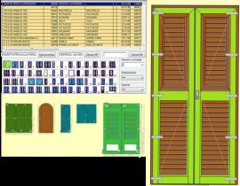 Modul grilje - Softver za PVC i ALU stoariju Finestra3000